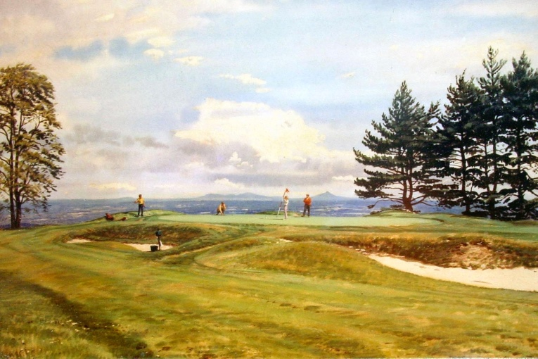 Name this course! In its day, it was called the 'Aristocrat of Courses.' The legend Arthur Weaver is - obviously - the artist and this is one of his least known master works.