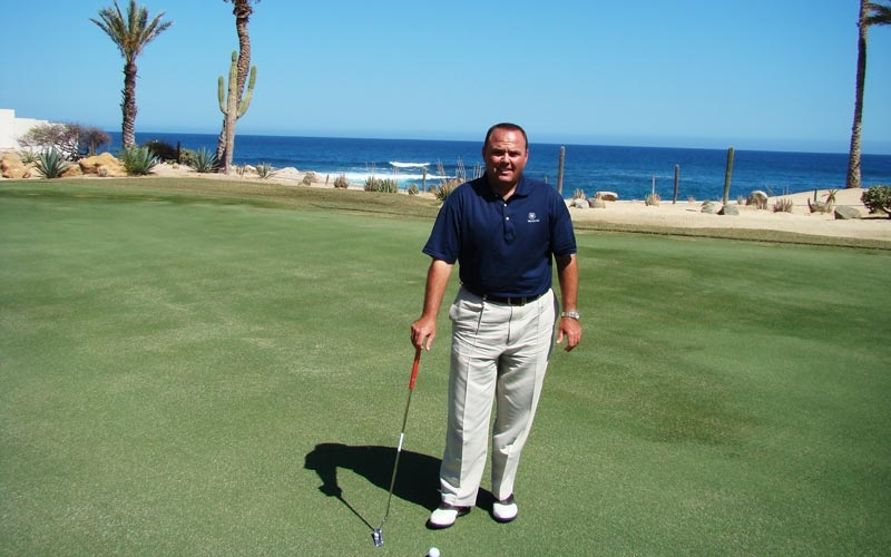 Greg Tallman - Director of Golf at Cabo del Sol Resort.