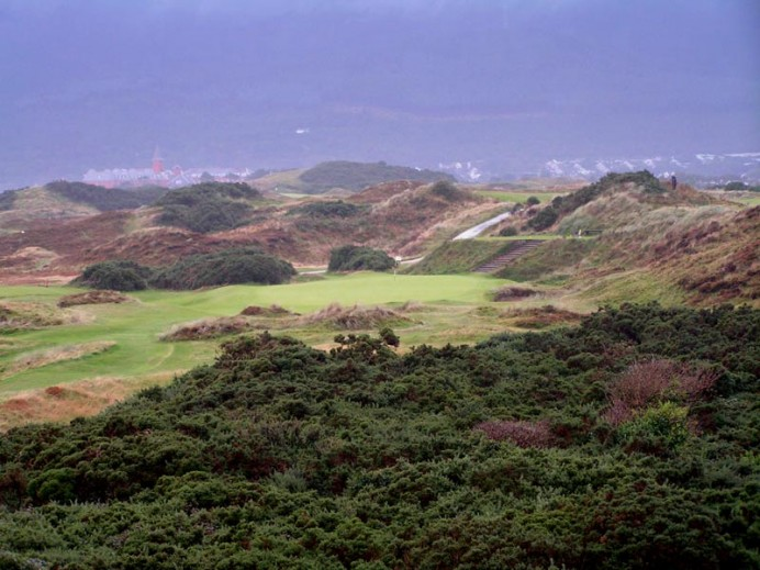 The great downhill one shot fourth at County Down.
