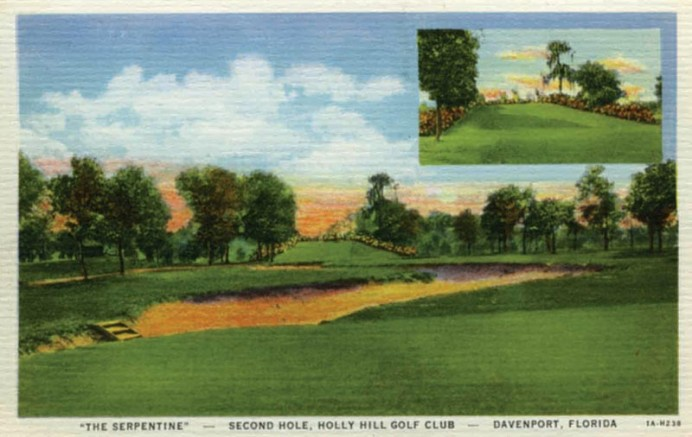Holly Hill is but one example of their lost work in Florida, a state all the poorer for squandering away so many fine Golden Age courses.