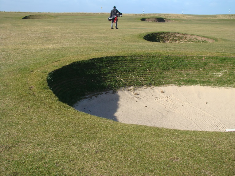 ... and these well placed bunkers.