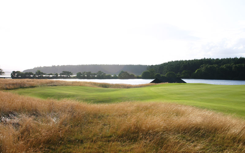 ...encounter an equally or more challenging recovery shot than from the bunkers.