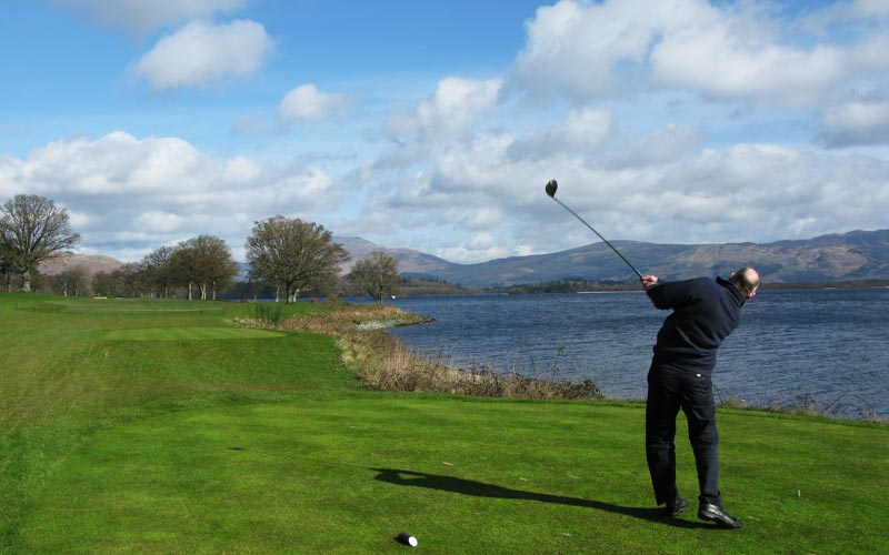 Loch Lomond, golf in Loch Lomond, Tom Weiskopf,  Lyle Anderson