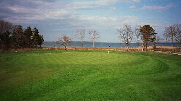 Believe it or not, Buzzards Bay was barely visible from this green in 1998.