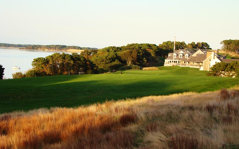 The view from any of the tees on eighteen is deceiving as it provides no hint as to...