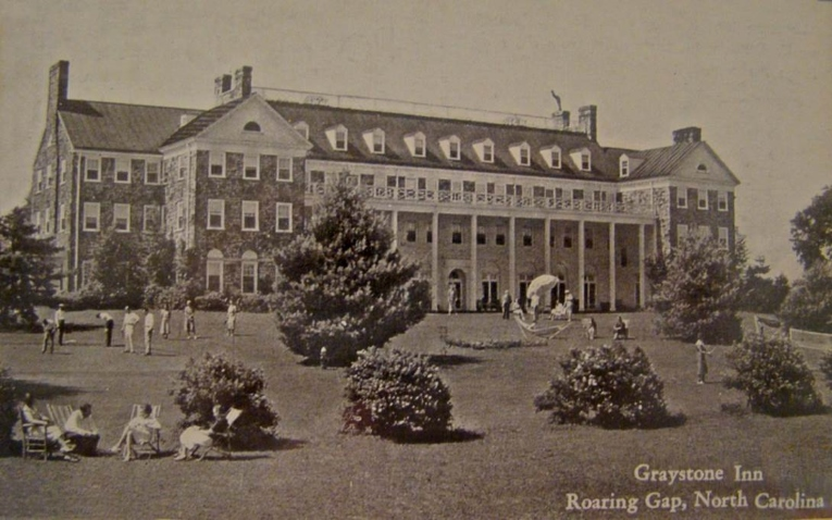 George Washington's Mount Vernon served as the inspiration for the Graystone Inn, whose exterior is has been faultlessly preserved for nine decades.