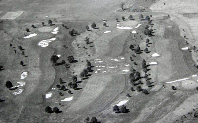1938 - Holes seven(left), four (middle) and five (right)
