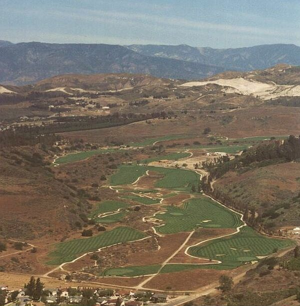 Rustic Canyon Golf Course