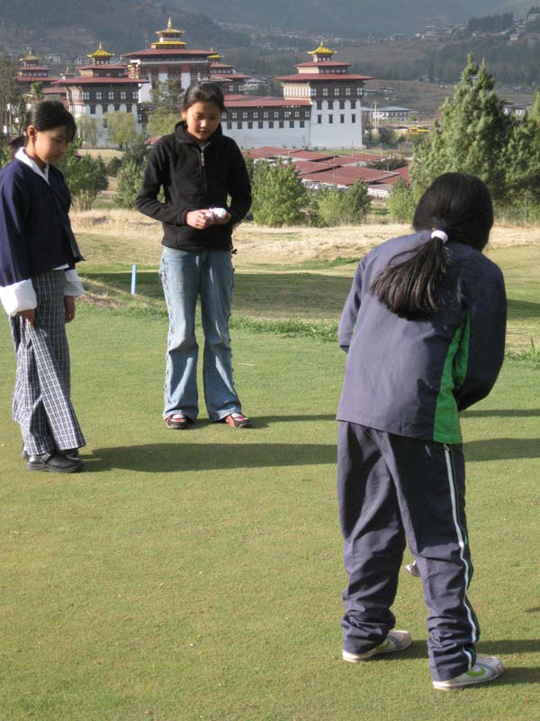 The spirit of golf is alive and well in Bhutan!