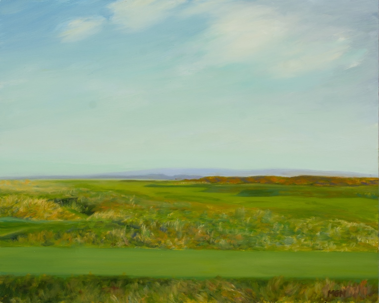 """Simplicity of Design, 'Foxy' at Royal Dornoch"""