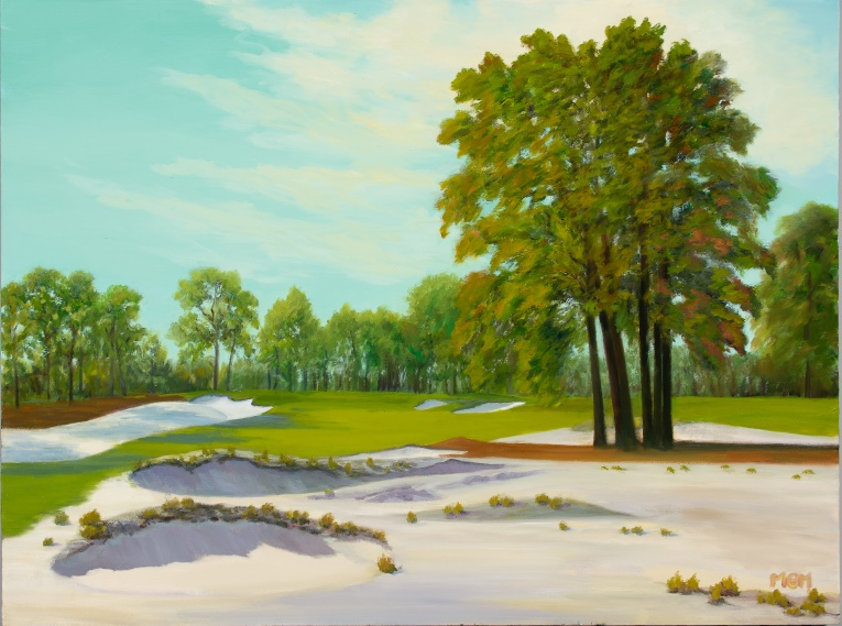 """Summer Day, the Thirteenth at Pinehurst #2"""