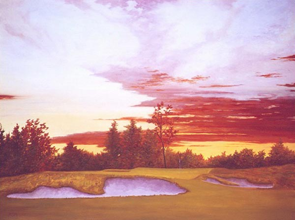 Sundown at Winged Foot's Tenth, c. 1927