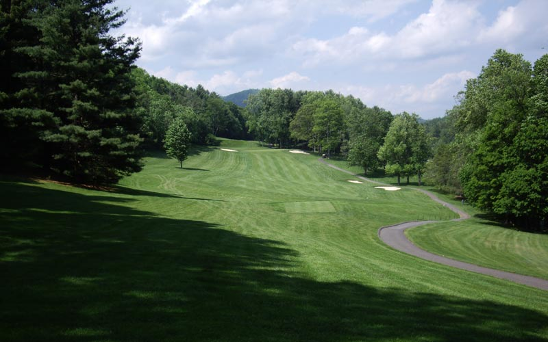 Cascades Golf Course, The Homestead, William Flynn