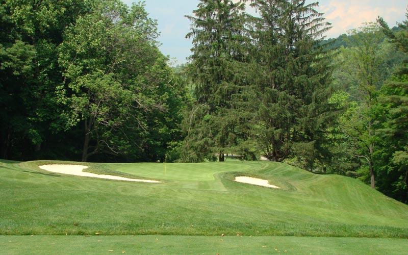 Cascades Golf Course, The Homestead, William Flynn