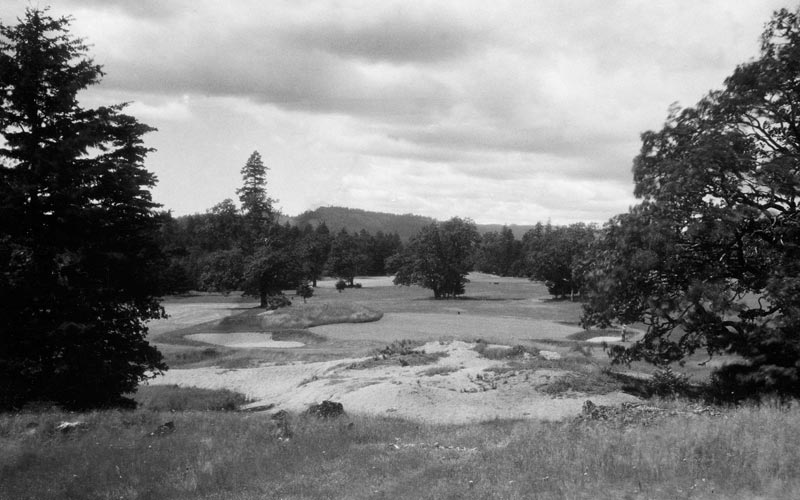 The seventh hole circa 1930.
