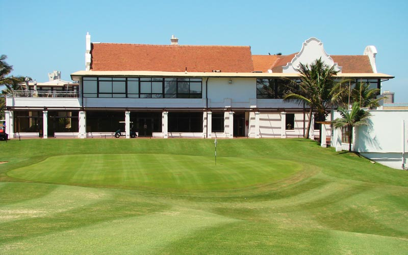 Located at the base of the clubhouse, the eighteenth green and its surrounds are full of character and have made for many an exciting finish. Durban's own version of the Valley of Sin snares either tee balls or approach shots that are a shade too weak and sends them well back into the fairway from where an up and down is no certainty.