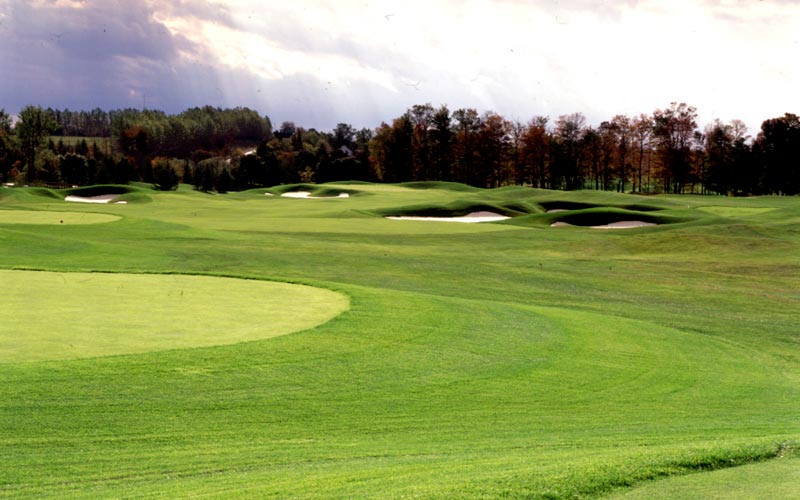 Host of the 2002 Canadian Open, the South Course was the first of two courses at Angus Glen.