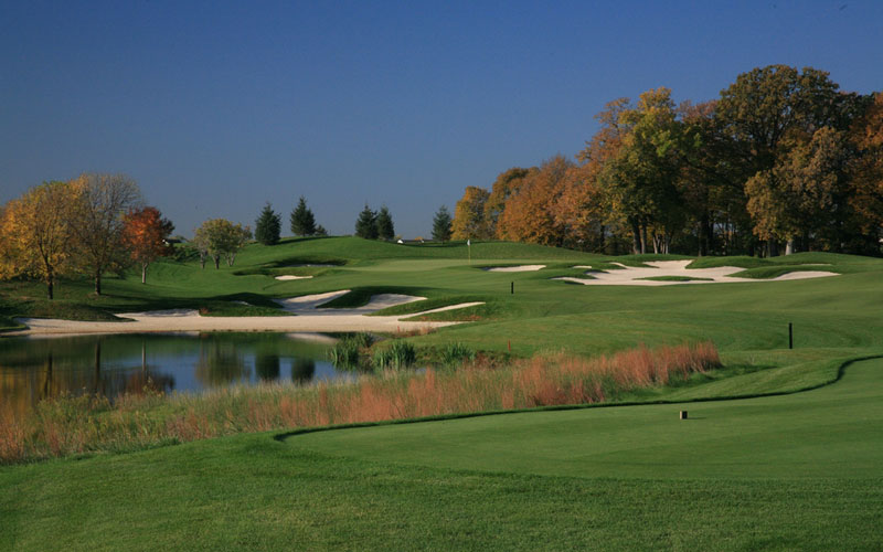 The seventh at TPC Twin Cities