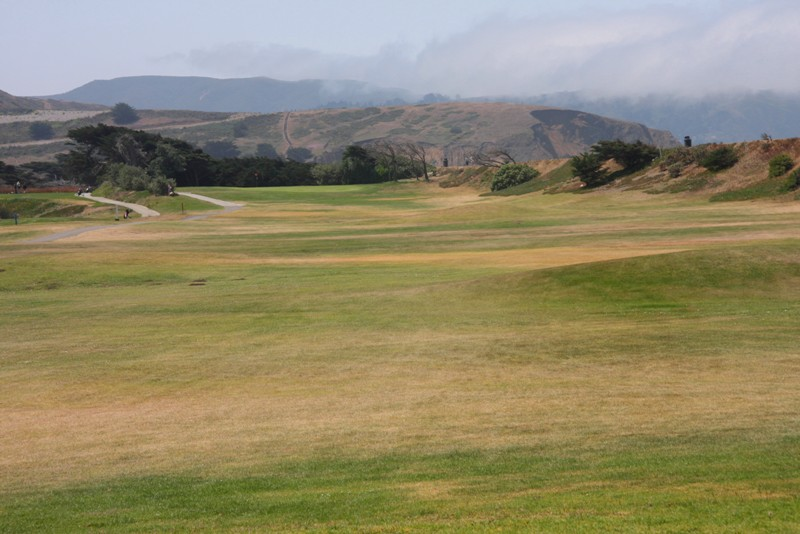 A west coast version of The Old Course.