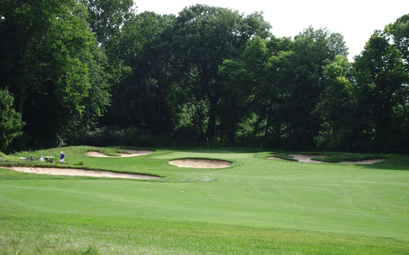 The excellent par four eleventh at Prairie View.