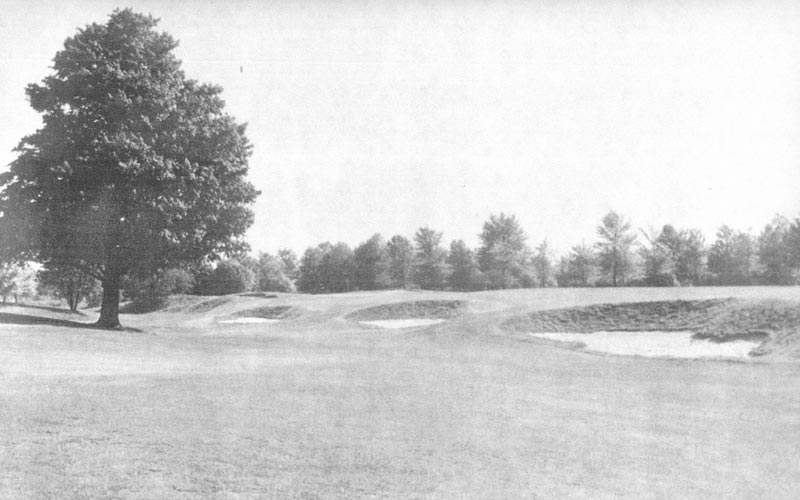 As seen from 1935, not a lot has changed to Flynn's design at The Country Club - and that's a very good thing.