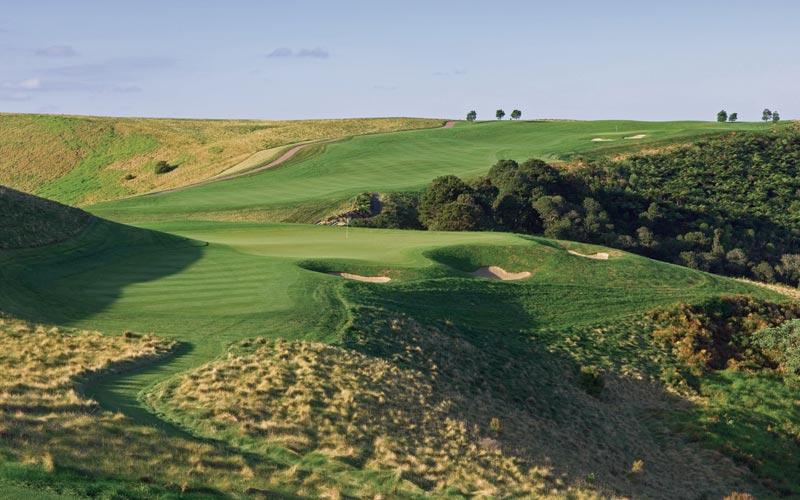Kauri Cliffs golf course Julian Robertson, golf in New  Zealand, David Harman