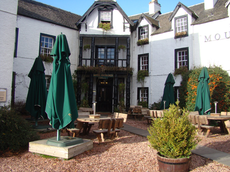 Not just a pub but a microbrewery awaits you at the Moulin Inn.