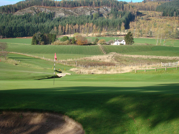 Golf at Pitlochry is defined by the bracing air and long vistas.
