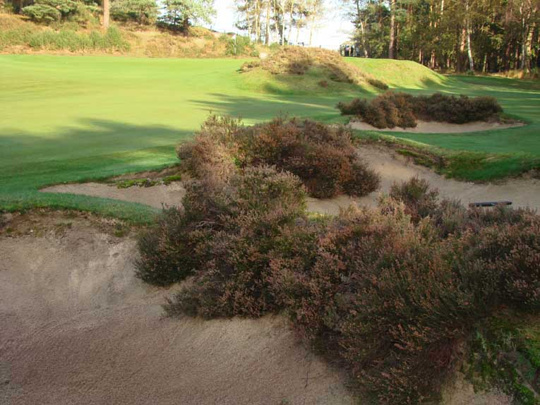 Dickinson opined '...the thing about Sunningdale is that it seems such 'natural' golf. For an inland course this is a rare quality.'