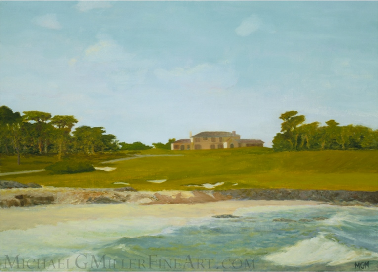 Cypress Point, View of the Clubhouse, c