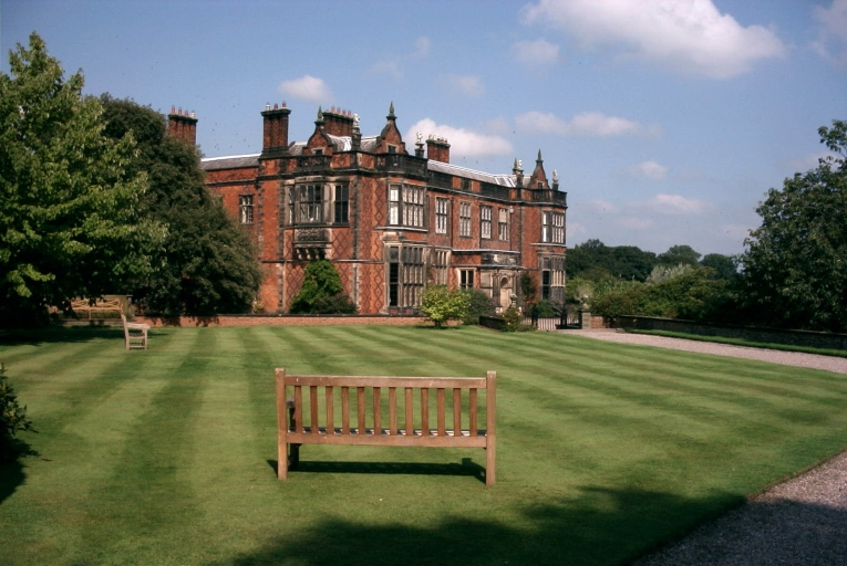 Arley Hall, Cheshire, home of Lord and Lady Ashbrook.