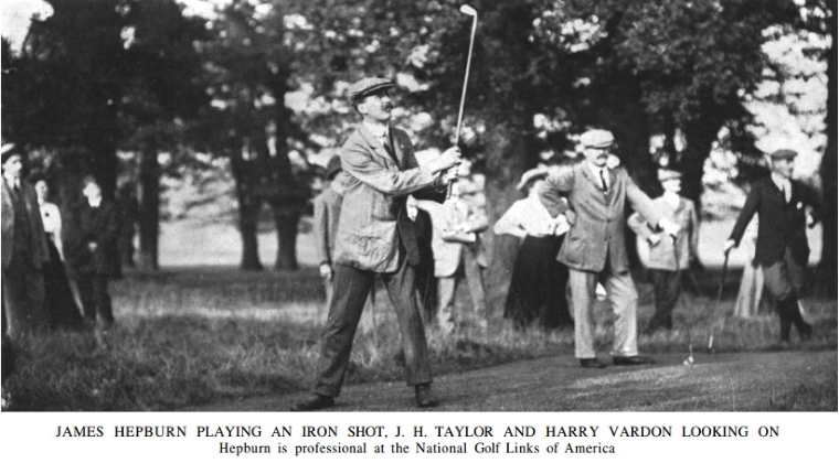"Born in Carnoustie, Hepburn had ""many pleasant struggles"" with Bernard Darwin when Hepburn was the professional at Royston Golf Club and Darwin was an undergraduate at nearby Cambridge (Credit: Golf Illustrated)."