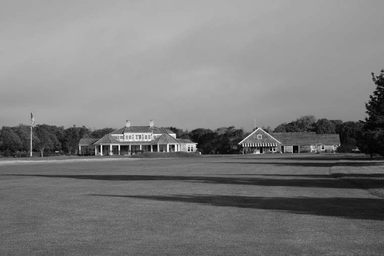 Evocative of some of the great links of the world, Quogue's first and final holes leave from and return to the clubhouse along the same piece of flat land.