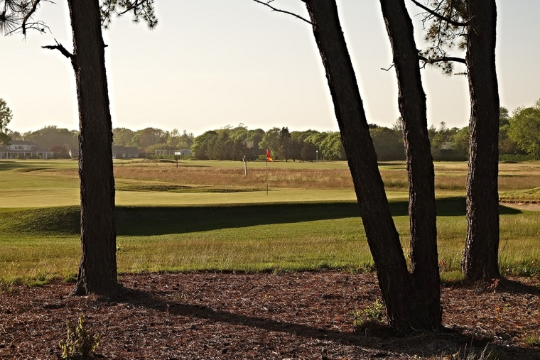 "The evening light draped over the 1st green has a particularly calming effect at wide-open Quogue, which remains ""one of the finest on Long Island"" and ""one of picturesque beauty,"" as the Suffolk County News described the course when it opened in 1901."