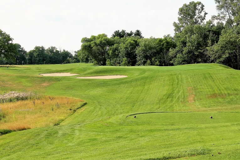 The thrilling modified Redan at Culver. Long admirers of Macdonald and Raynor's work, Langford & Moreau were undoubtedly influenced in their creation of this hole by Chicago Golf Club's own manufactured Redan hole, which Raynor completed several months before construction began here.
