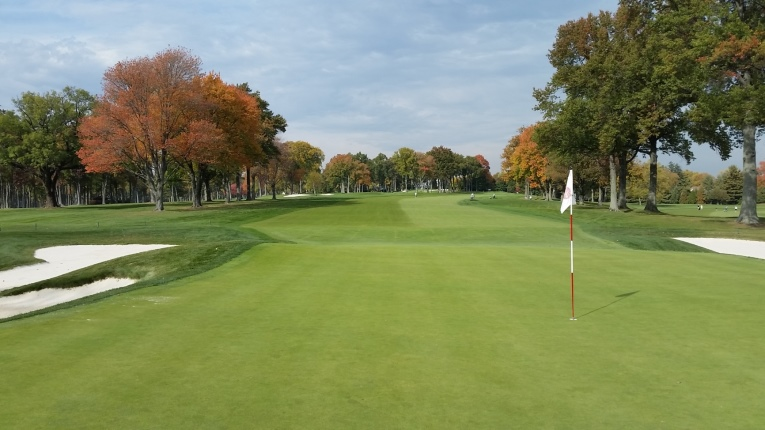 The vast majority of greens at Winged Foot allow for the ground game and some, such as the 7th, may even require it, particularly in the Fall as the course gets its firmest.